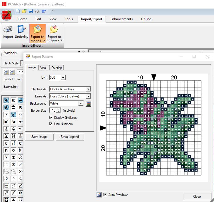 Creating Patterns in PCStitch - Pixel Stitch Tutorial